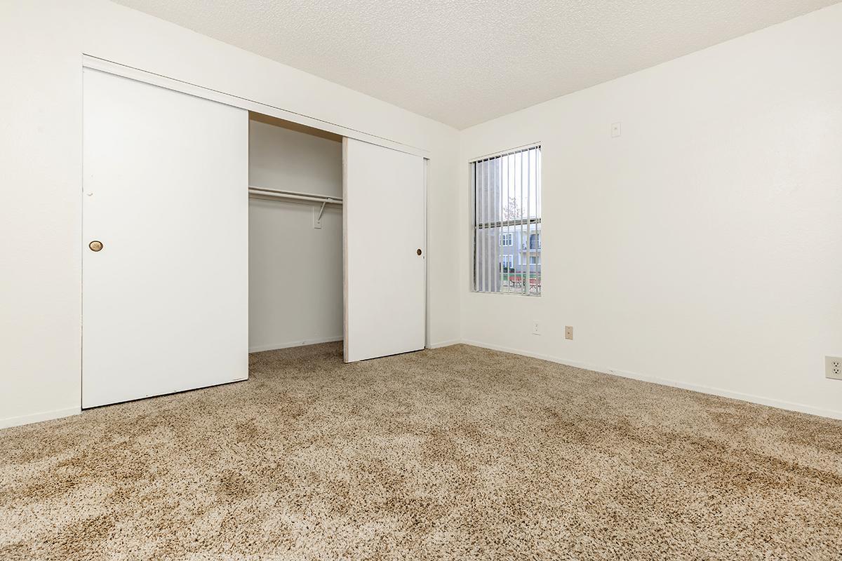 Spacious bedroom at Citrus Apartments