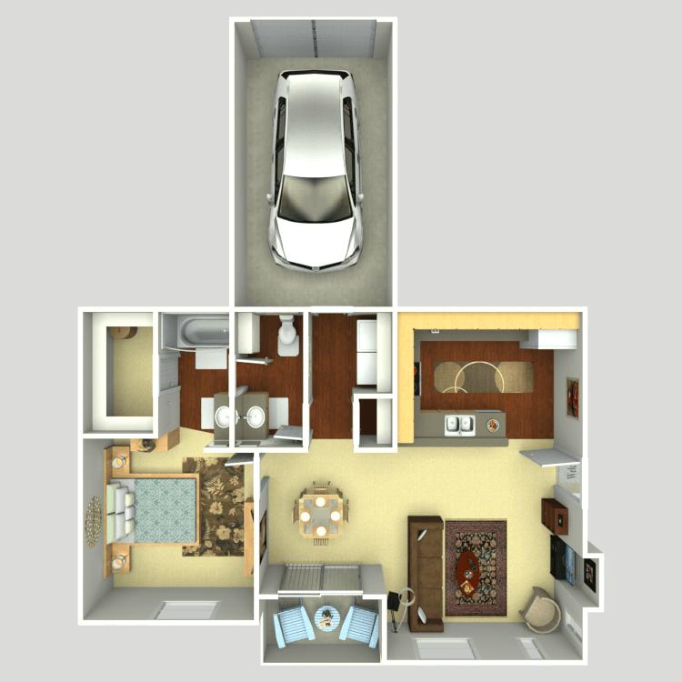 Floor plan image of Venetian D