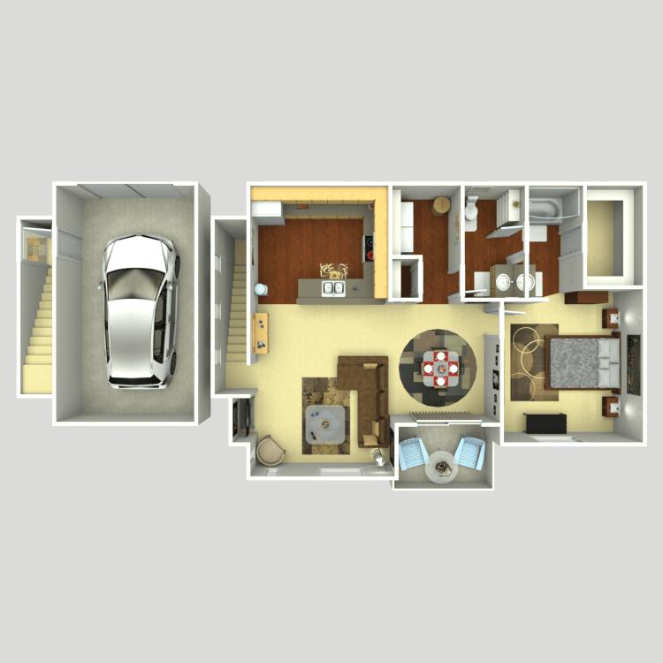 Floor plan image of Venetian U