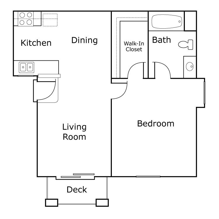 Floor plan image of A Cappella