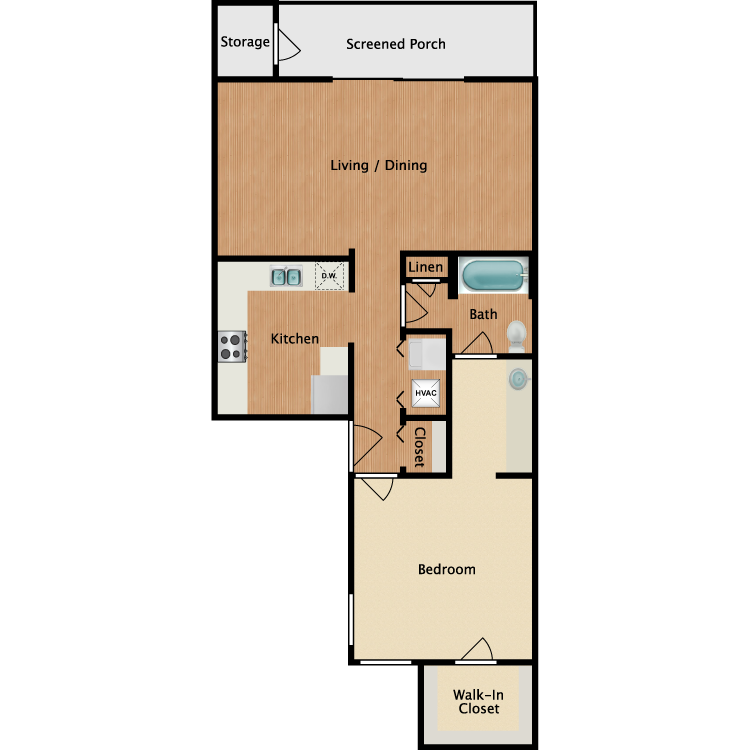 Floor plan image of The Mirasol