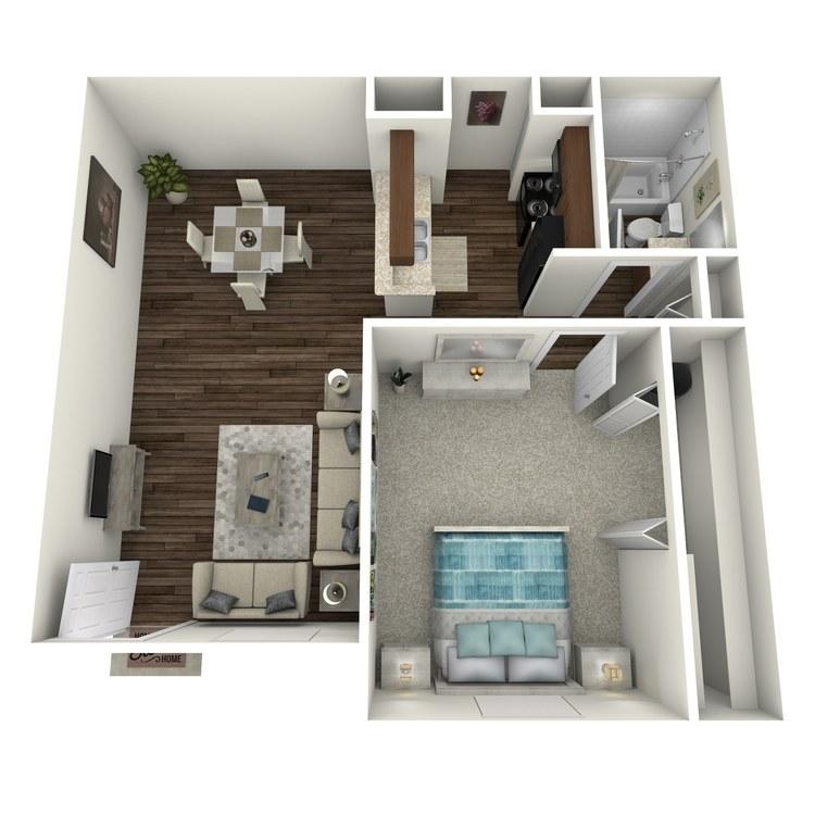 Floor plan image of Bell