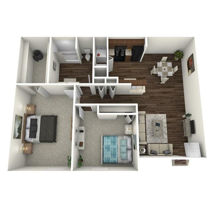Floor plan image of Beacon-B