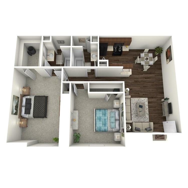 Floor plan image of Vessel-B