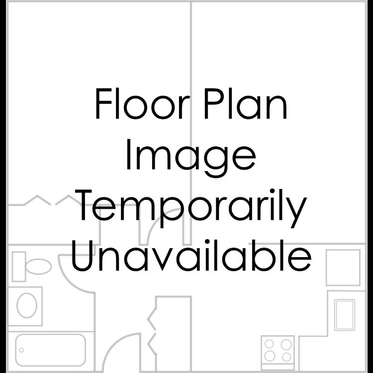 Floor plan image of 2 Bed 1 Bath Townhouse