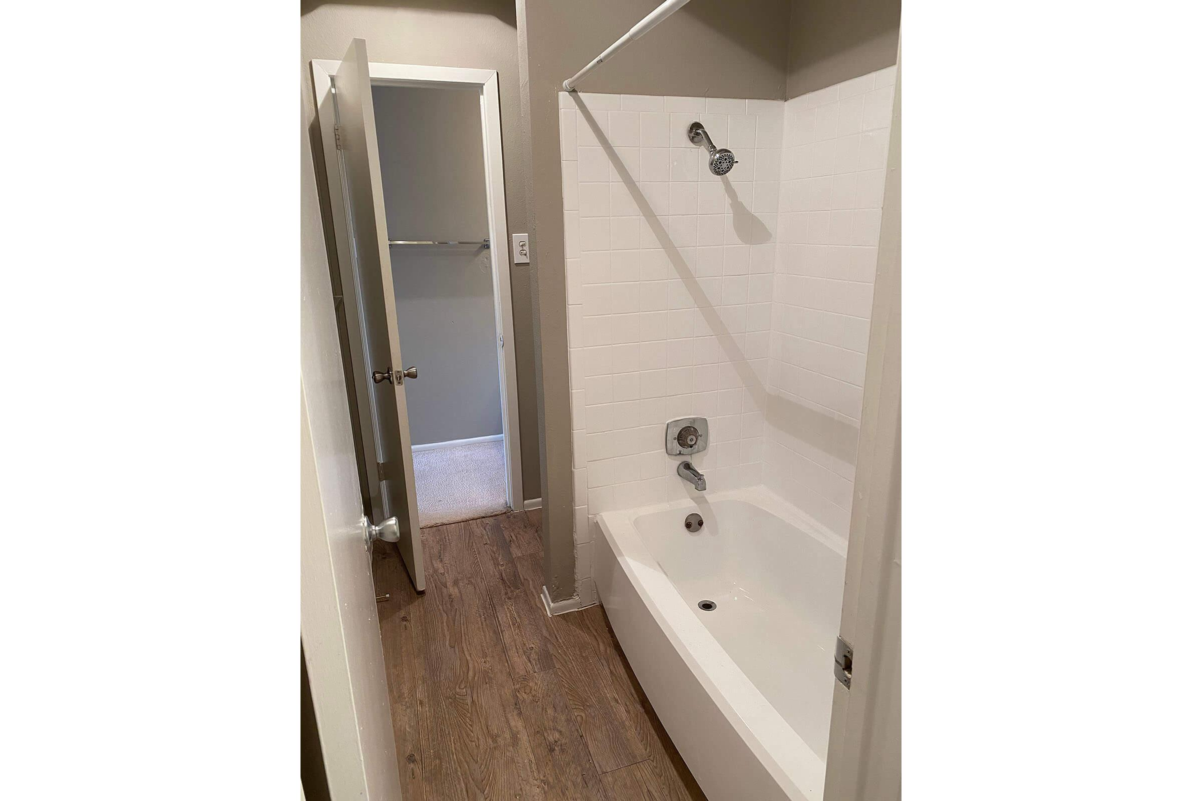 a view of the shower