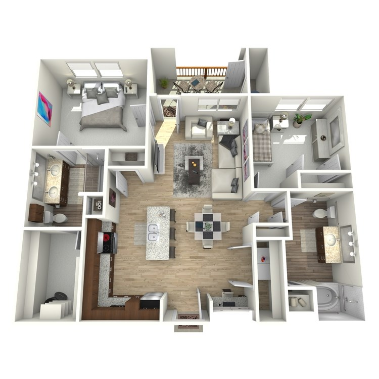 Floor plan image of B3