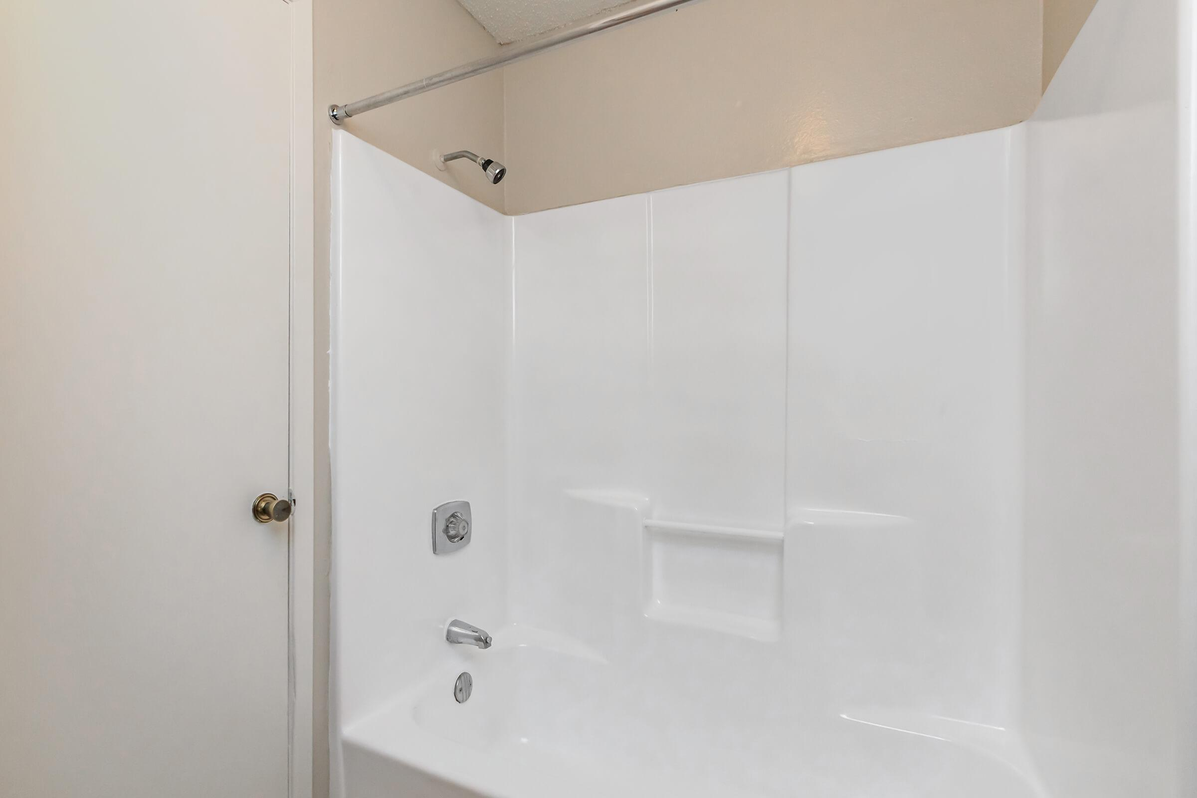 a close up of a shower in a room