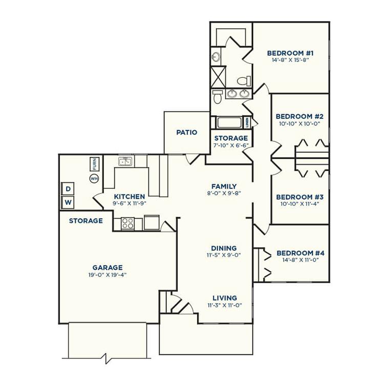 Floor plan image of Arrowwood