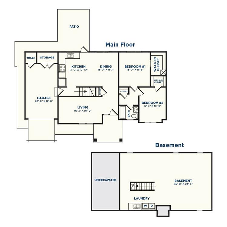Floor plan image of Bonsai