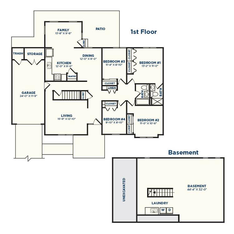 Floor plan image of Buckeye