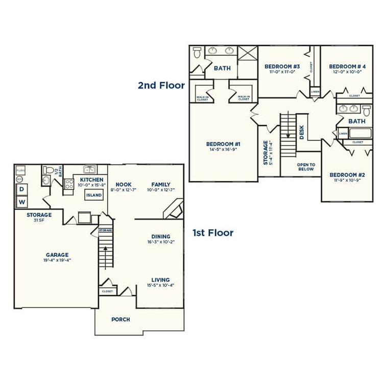 Floor plan image of Crabapple