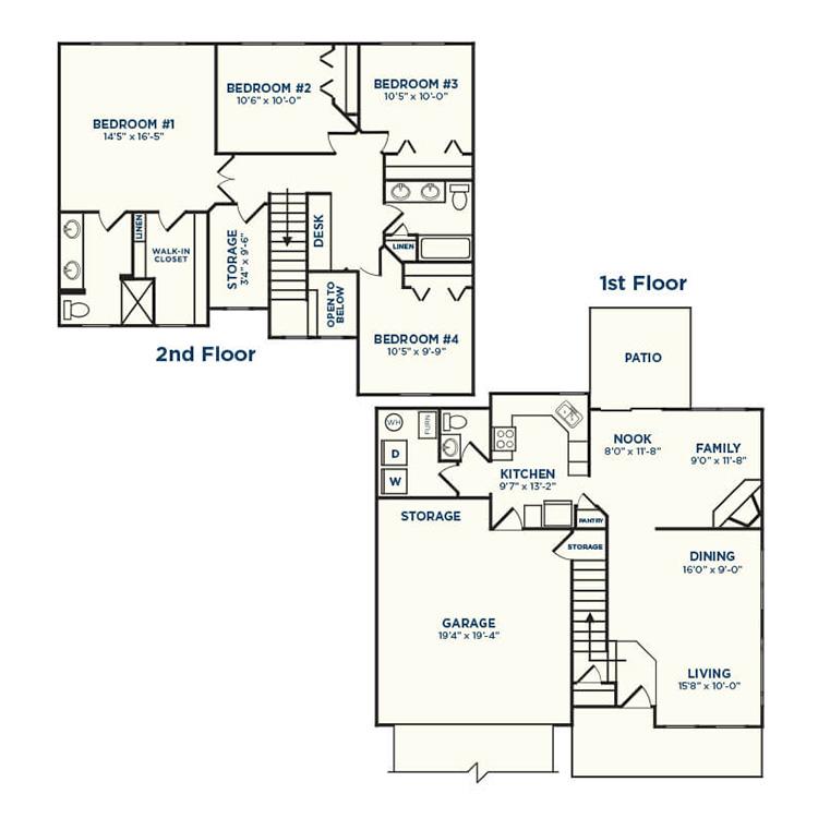 Floor plan image of Hackberry
