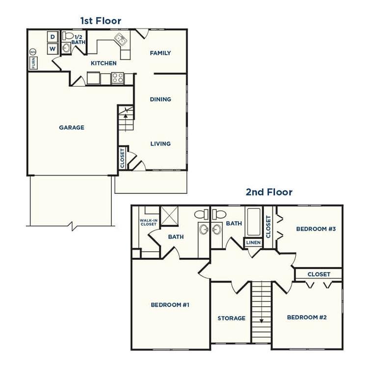 Floor plan image of Hazelnut