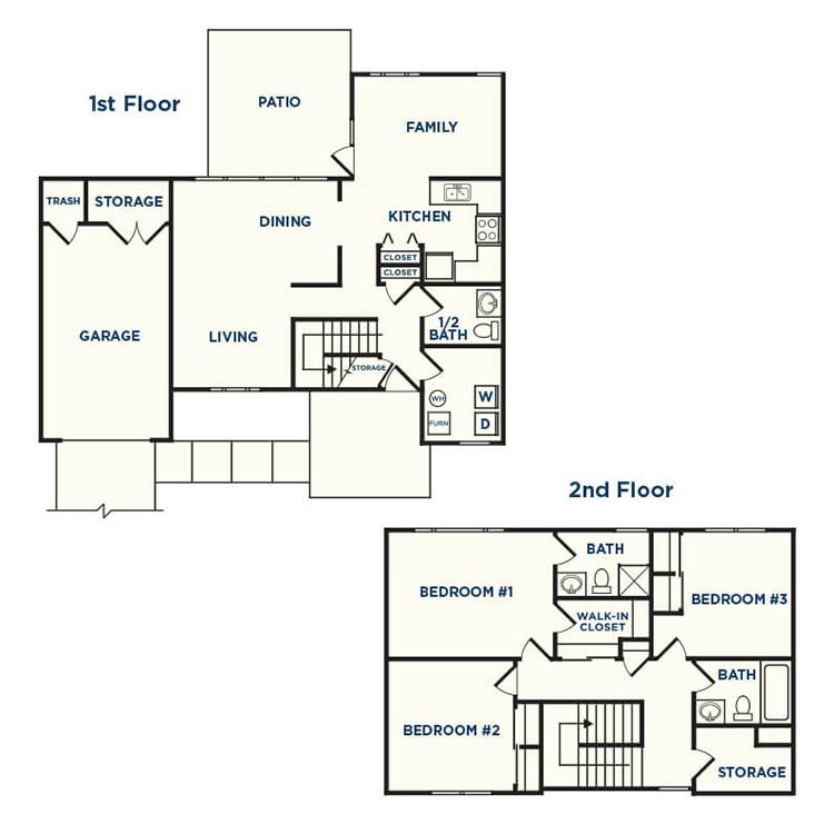 Floor plan image of Redbud