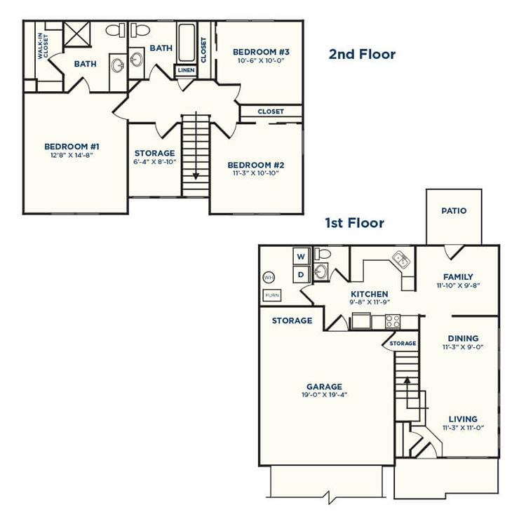 Floor plan image of Zelcova