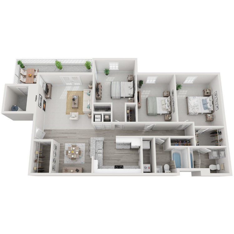 Floor plan image of The Eagles Nest