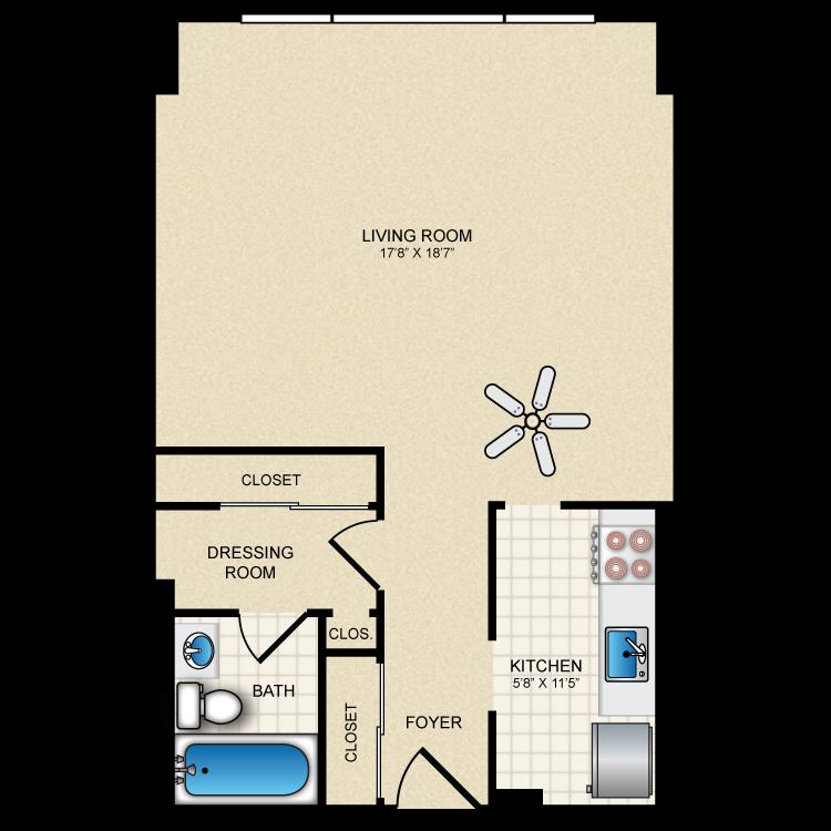 Floor plan image of S2
