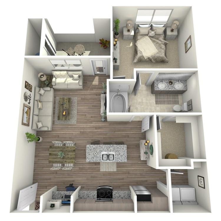 Floor plan image of Spyglass Hill