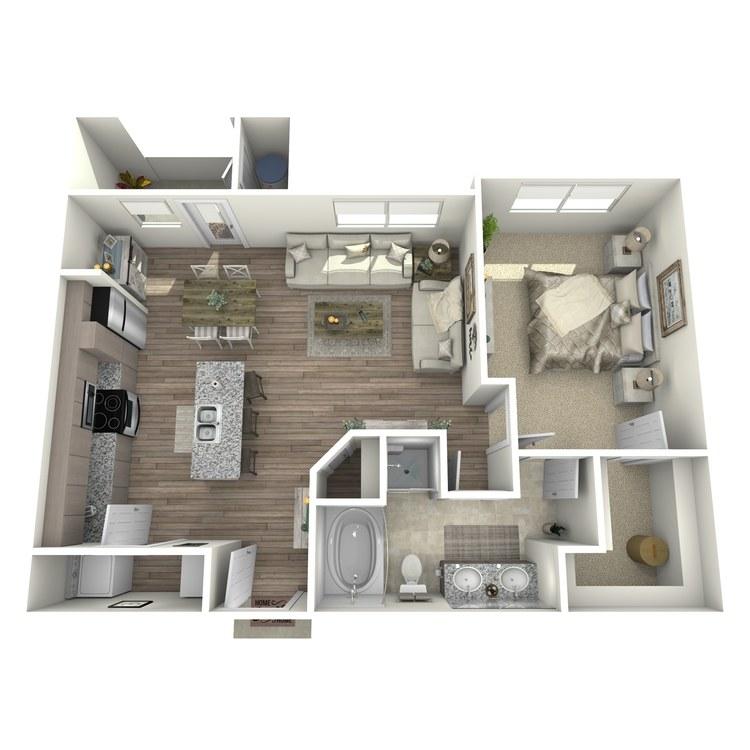 Floor plan image of Sawgrass