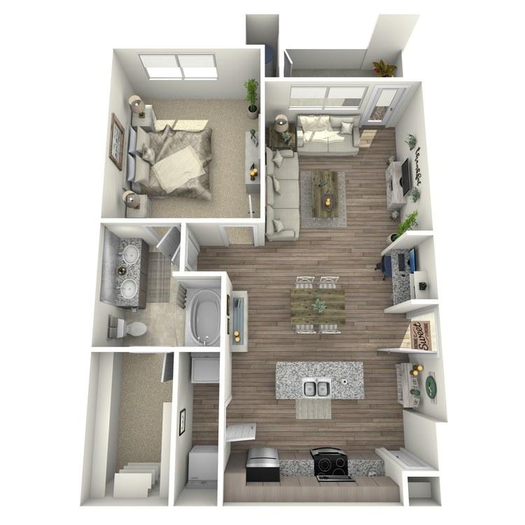 Floor plan image of Hazeltine