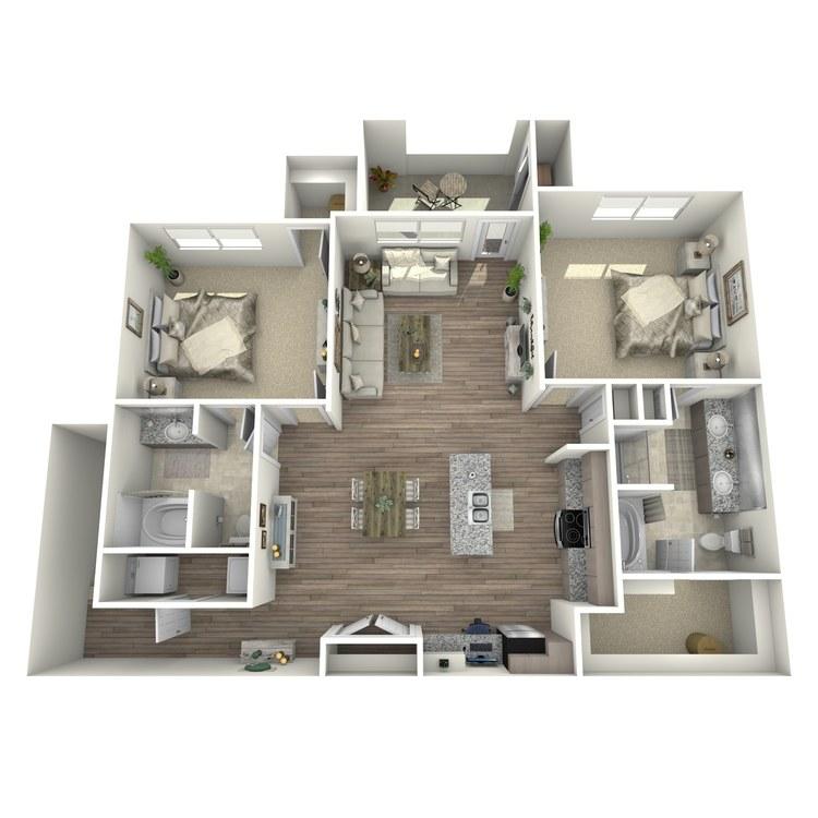 Floor plan image of St. Andrews