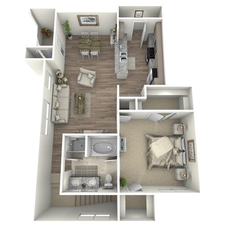 Floor plan image of Castle Pines