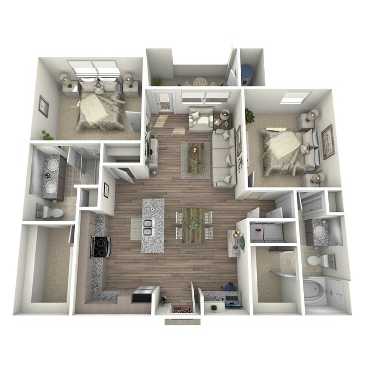 Floor plan image of Torrey Pines