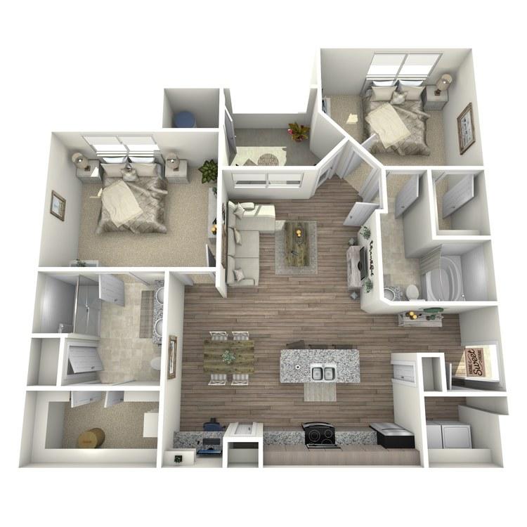 Floor plan image of St. George
