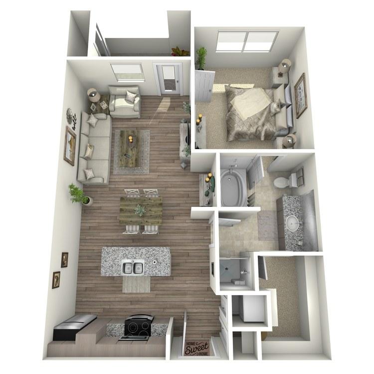 Floor plan image of Augusta
