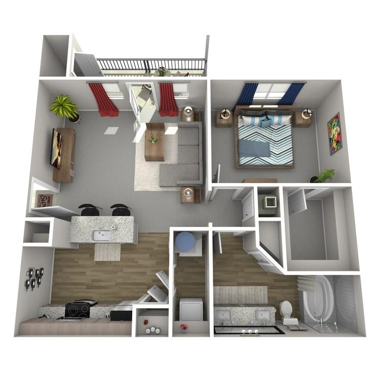 Floor plan image of A4