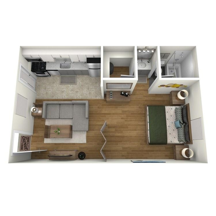 Floor plan image of The Lenox