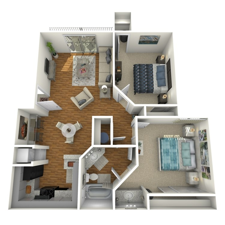 Floor plan image of Shasta Cottage