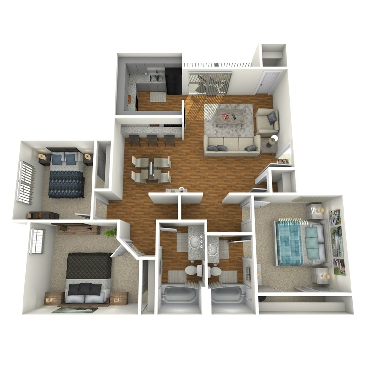 Floor plan image of Everest Cottage
