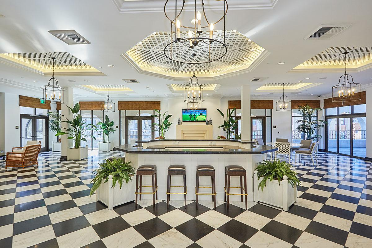 Community Apartments Lobby
