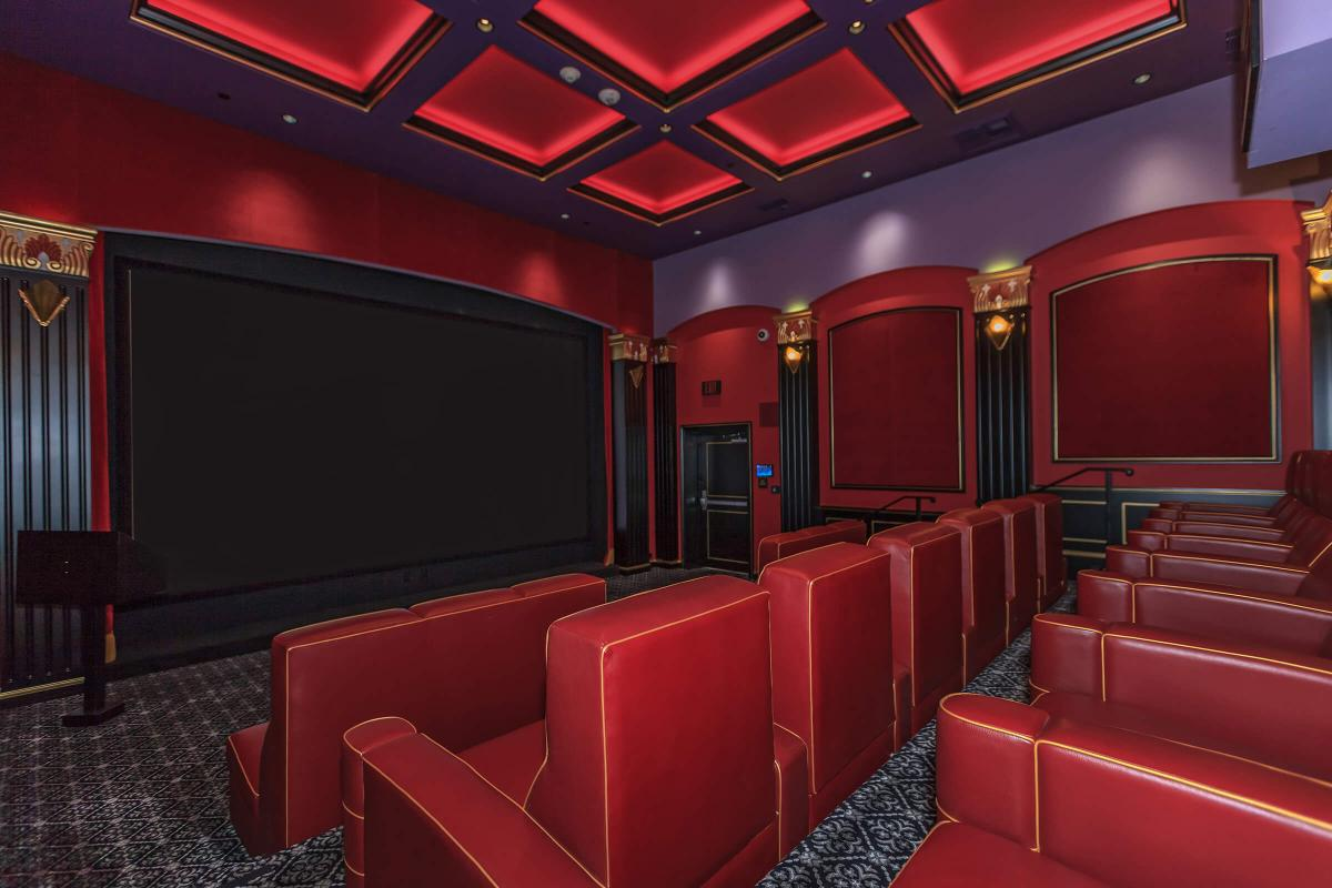 Broadway Palace Apartments - Screening Room