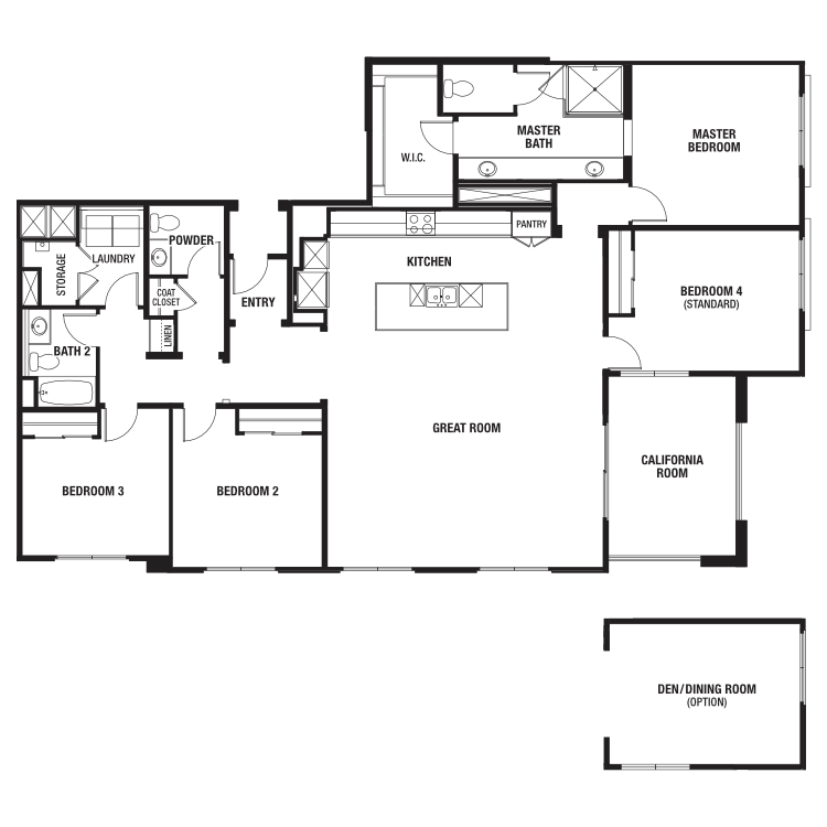 Plan 4A floor plan image