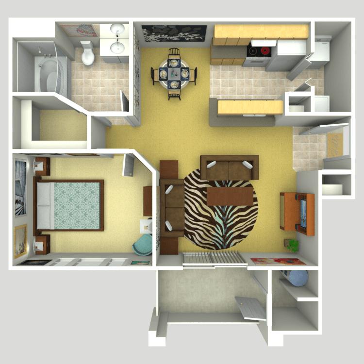 The Harmony floor plan image