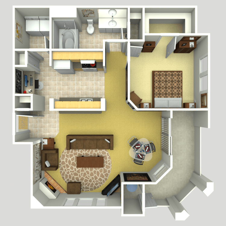 The Intuition floor plan image