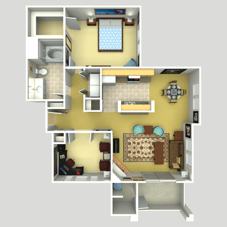 The Reflect floor plan image