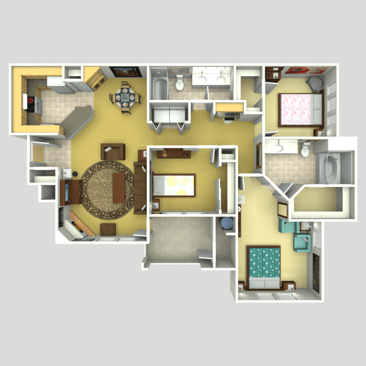 The Relax floor plan image