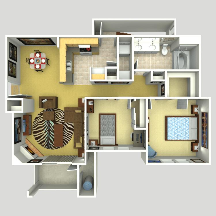 The Reserve floor plan image