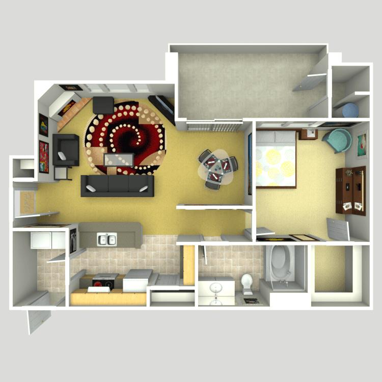 The Retreat floor plan image