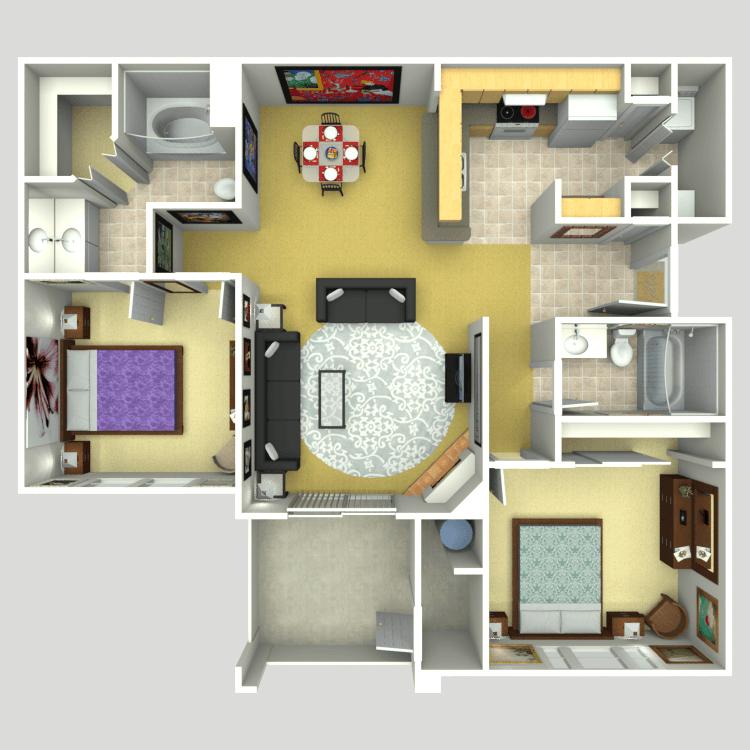 The Sanctuary floor plan image