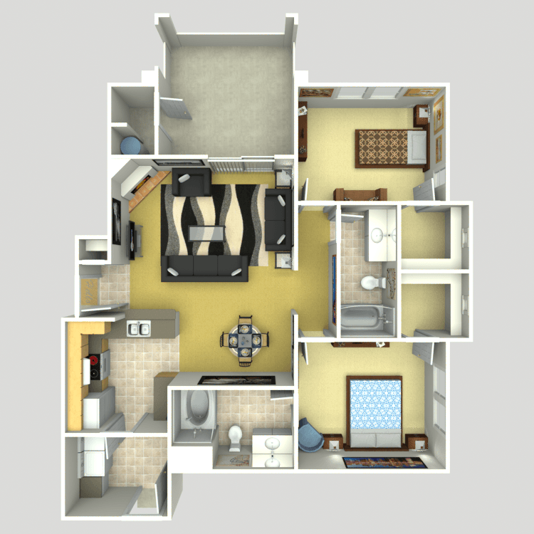 The Tranquility floor plan image