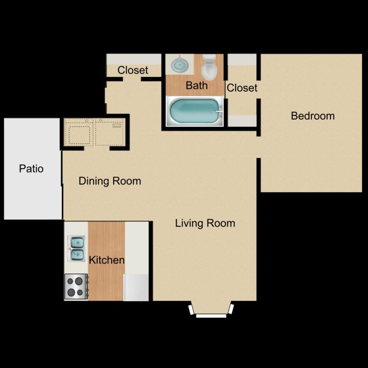 Floor plan image of Peanut