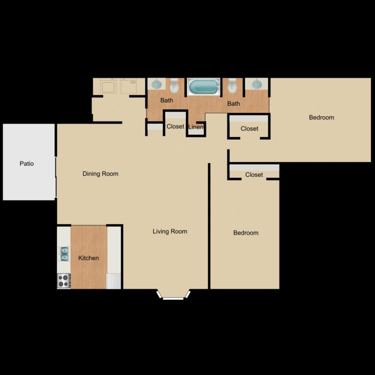 Floor plan image of Azalea-R