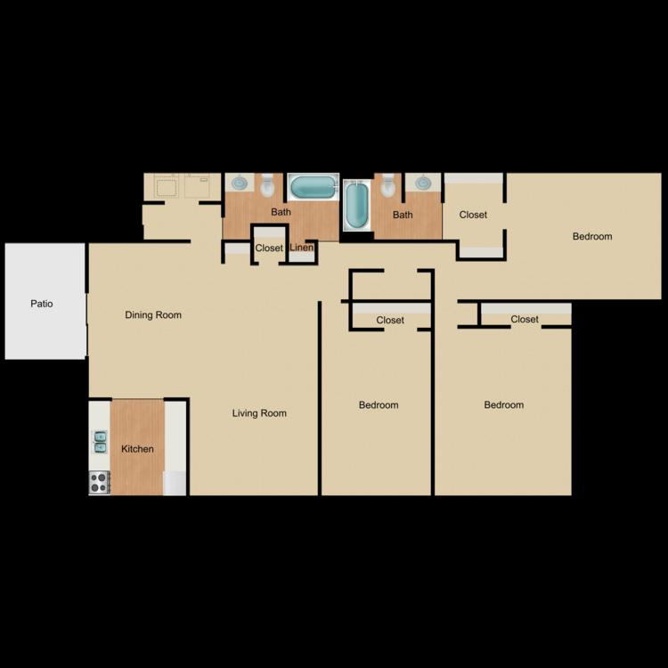 Floor plan image of Belle-R