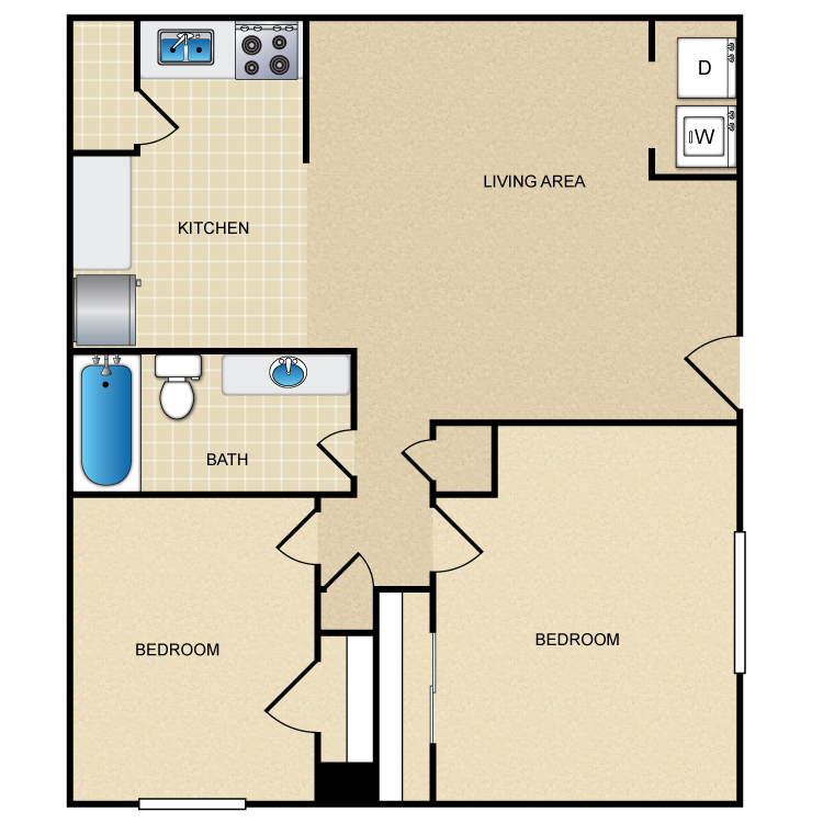 The Marquise floor plan image