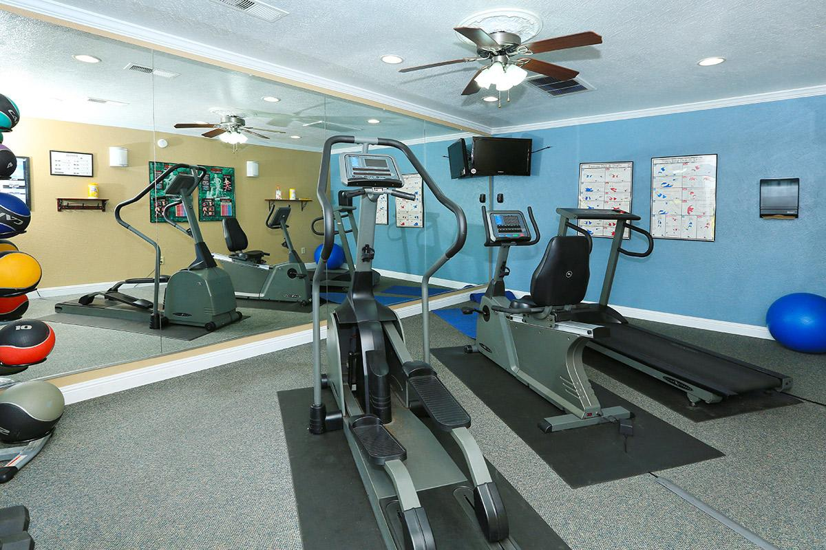 Feel the burn at our state-of-the-art fitness center
